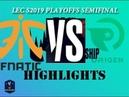 FNC vs OG Highlights ALL Game LEC Spring 2019 Playoffs Semifinal Fnatic vs Origen