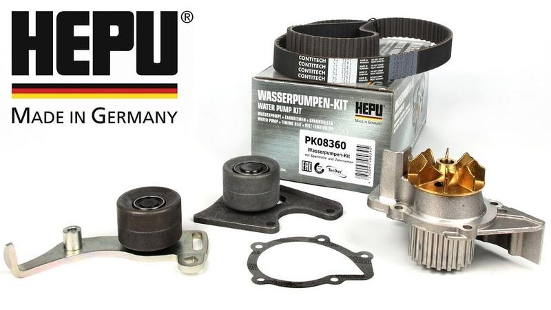 HEPU - водяные помпы из Германии - обзор продукции