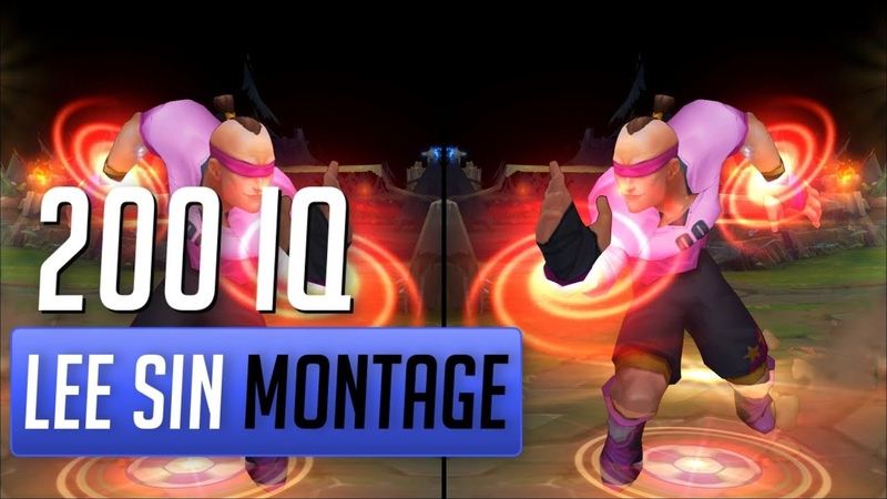 200 IQ Lee Sin Montage 15 Best Lee Sin Plays 2018 by The LOLPlayVN Community League of Legends