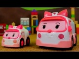 Learn To Count to Five with Robocar Poli &amp The Rescue Team (