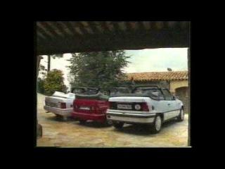 Telemotor test Ford Escort cabrio Opel Kadett cabrio VW Golf cabrio