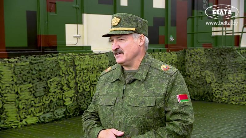 Лукашенко об опасениях от присутствия российских войск в Беларуси- надо успокоиться