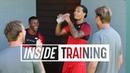 Inside Training: Van Djik Wijnaldum cheered on by Klopp | Gruelling lactate test