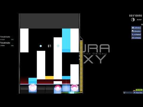 Osu!   EastMt - Iwakura Galaxy [7K Lv.14] 94.78