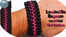 World of Paracord How to make Paracord Bracelet Louisville Express Modified Girls Edition DIY Paraco