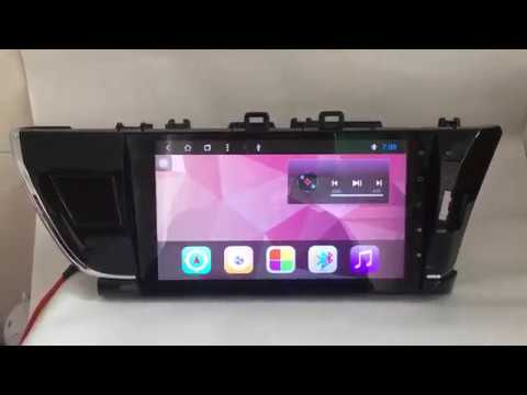 Android Car Multimedia Stereo Radio DVD GPS Navigation Head Unit for Toyota Corolla 2014 2015 2016