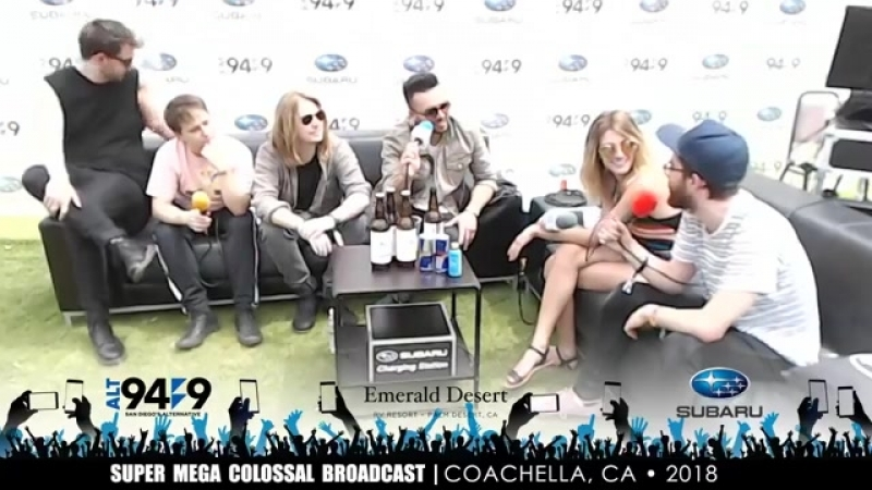 Nothing But Thieves interview - Super Mega Colossal Broadcast ALT 949