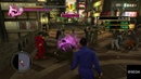 YAKUZA 0 - Parrying a sword with teeth.