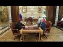 Обсудили с Джамбулатом Умаровым об исследовании и сохранении историко-культурного наследия ЧР
