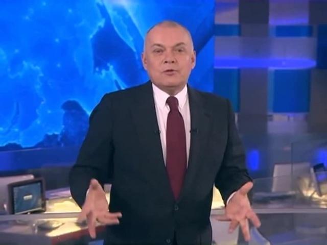 Почему Дмитрий Киселев так делает руками