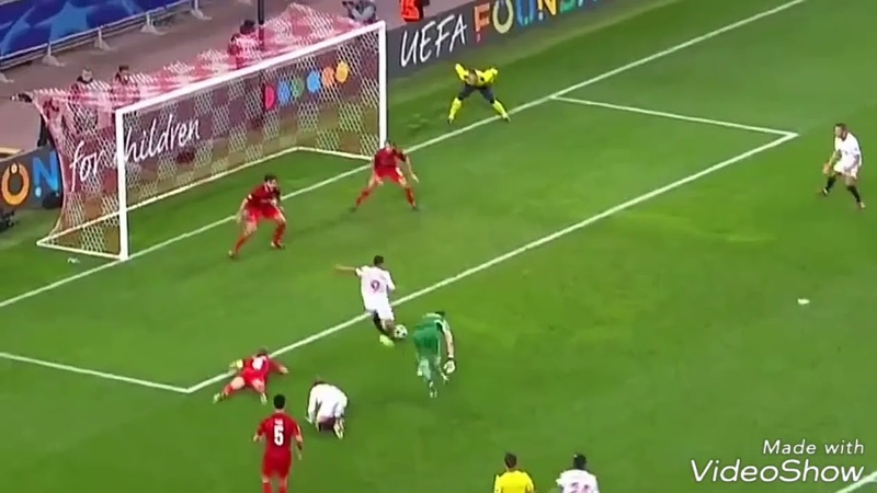 Сейв Дмитрия Комбарова. Спартак - Севилья 5-1