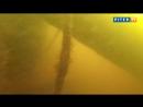 Уникальные кадры подводной съемки затонувшего теплохода Короленко