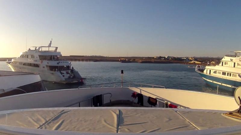 Diving Safari Egypt 1 port Ghalib timelapse