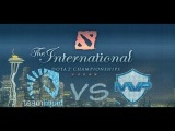 Team play by Liquid vs MVP.P @ The international 4 Game 2