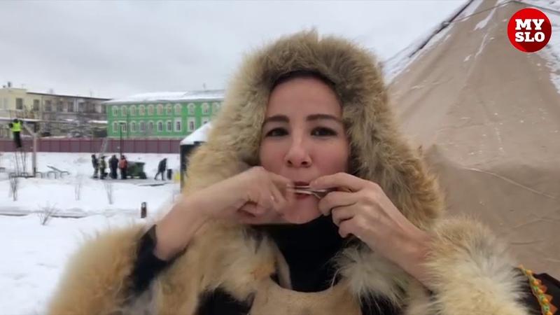 Северное шоу на Казанской набережной в Туле