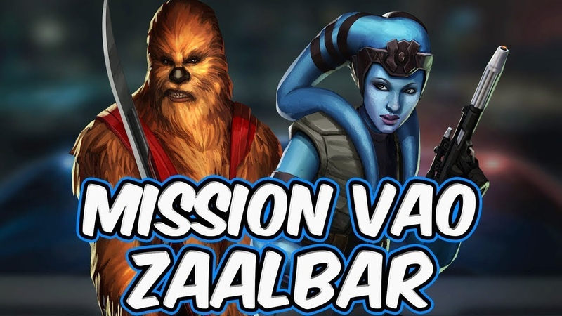 Mission Vao and Zaalbar Gameplay Unveiling! The New Chaze Combo   Star Wars Galaxy of Heroes