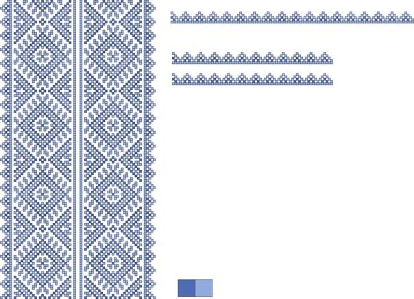 Схема вишиванки для хлопчика