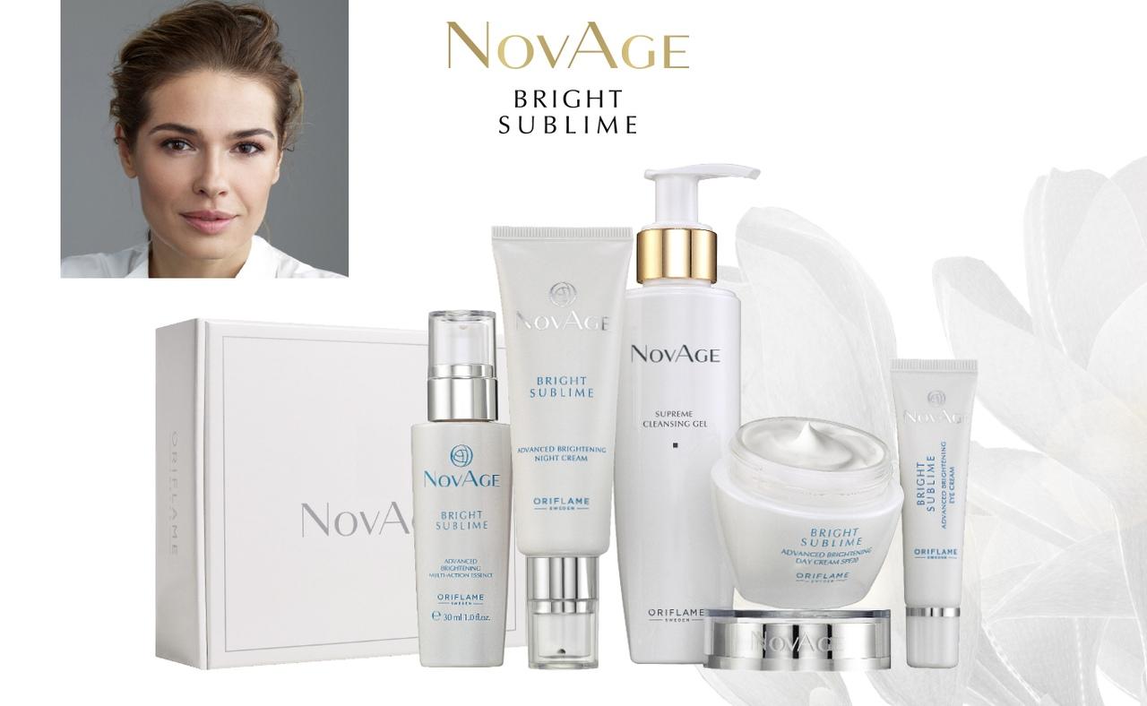 Светлое будущее. Комплексный уход против пигментации NovAge Bright Sublime