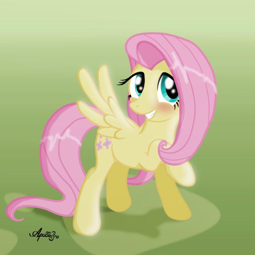 Играй с Пони Флатершай  (Fluttershy pony)