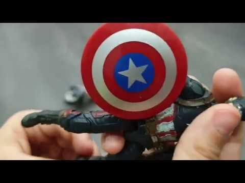 Обзор игрушки Капитан Америка