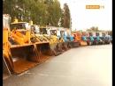 Техосмотр - смотр техники коммунальных служб Ленинского района