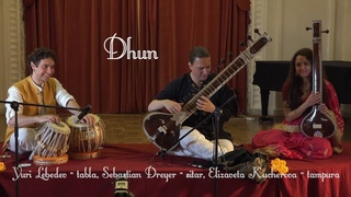 Dhun to the melody of a song about boatmen. Sebastian Dreyer - sitar. 4K UHD. October 20, 2018