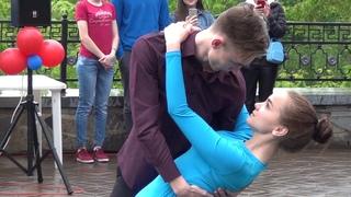 Алёна Мерзлякова и Михаил Леденцов танец на гала-концерте