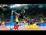 Top 25 Astonishing Cross Spike ● Part 3. Volleyball Hit.
