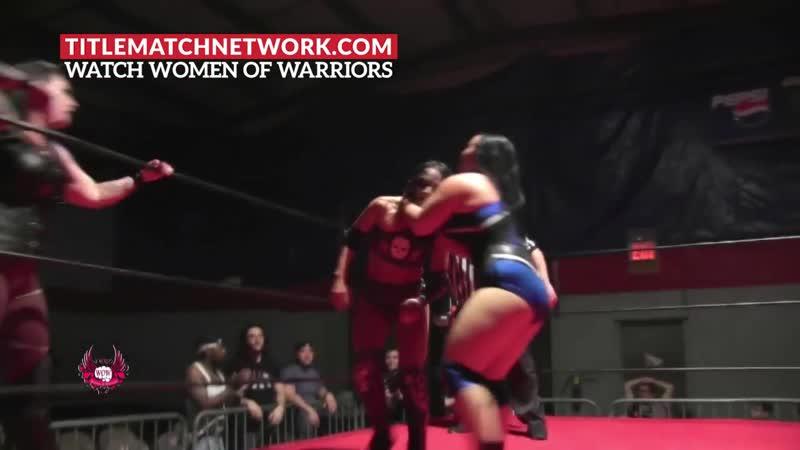 Team PAWG Jordynne Grace Lufisto vs Twisted Sisters Thunder Rosa Holidead