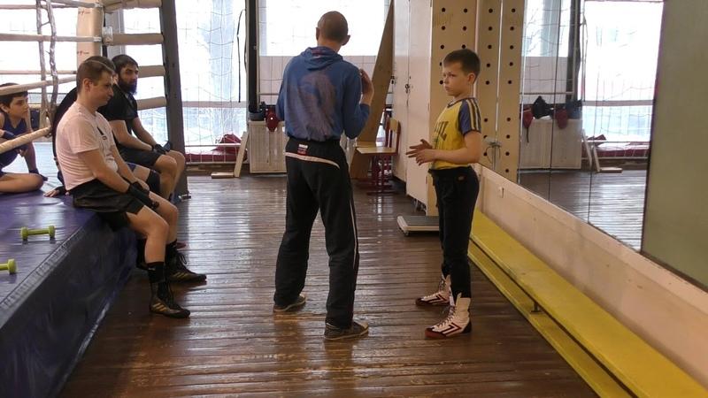 Бокс смена плечей в двойке - за счёт вкручивания, не за счёт отведения