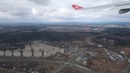 Takeoff from Moscow Vnukovo in a Turkish Airlines A333