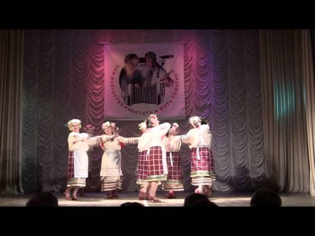Русский народный танец плетень