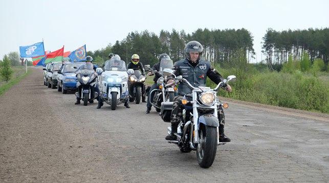 Автомотопробег ко Дню Победы свяжет Столин и Пинск