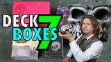 MTG - Deck Boxes 7 Ultra Pro, Legion, Rook, Leifkicker Deck Boxes for Magic The Gathering, Pokemon
