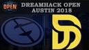 EG vs Disrupt Map1 | Rainbow Six VODs | DreamHack Austin 2018 (02.06.2018)