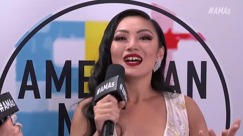 Tina Guo - Red Carpet Interview AMAs 2018