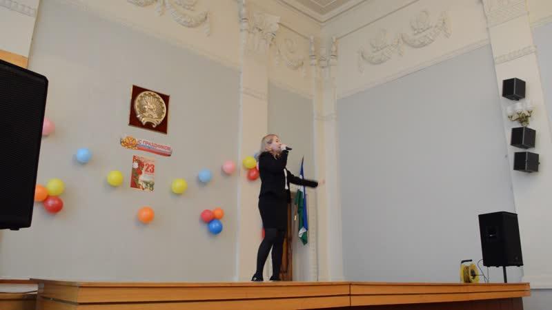 Виктория Гусаренко - Любите девушки (23 февраля)