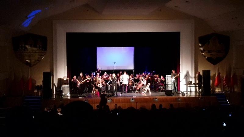 Flunk Orkiestra Wojskowa w Bydgoszczy. The Northpop Symphony, Queen of the Underground.
