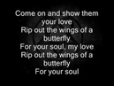 HIM- Wings of A Butterfly Lyrics