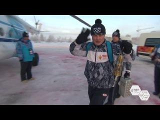 Эстафета Олимпийского огня (День 28) - Новый Уренгой и Салехард