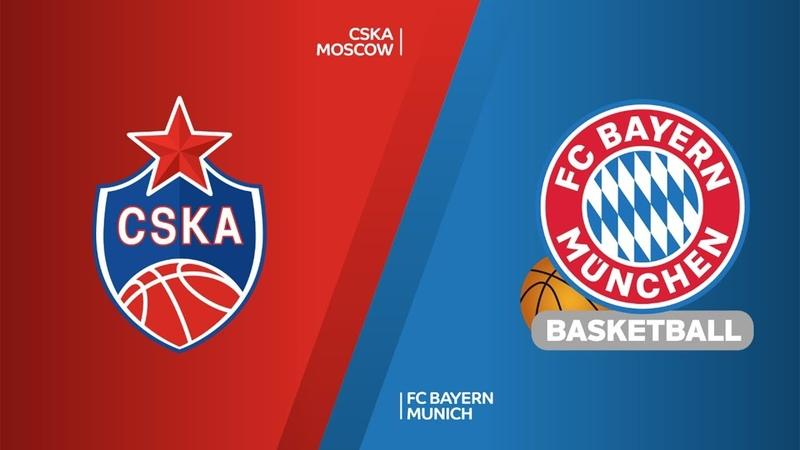 CSKA Moscow - FC Bayern Munich Highlights | Turkish Airlines EuroLeague RS Round 19. Евролига. Обзор. ЦСКА - Бавария
