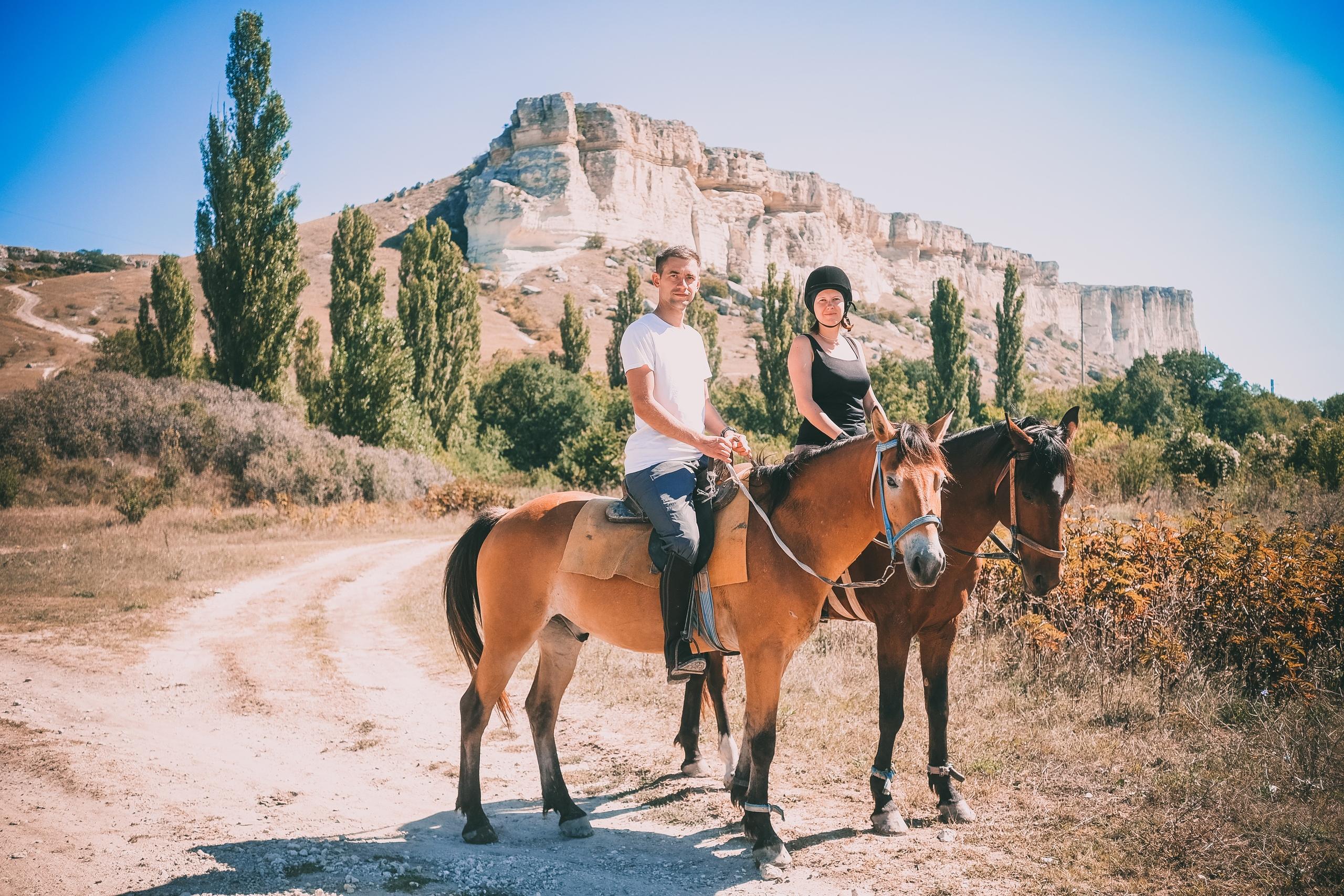 конные прогулки в Крыму, клуб Ковбой
