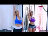 Blonde Milf Latina Hot Yoga Class (720p) Горячая мамка на фотосессии модель wet pussy milf hardcore big tits oil busty