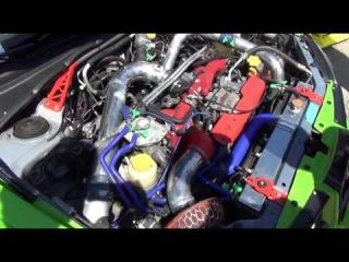 Мотор Шоу на Кавказе 2013 Subaru Impreza WRX STI 2 0Т 400+ л с