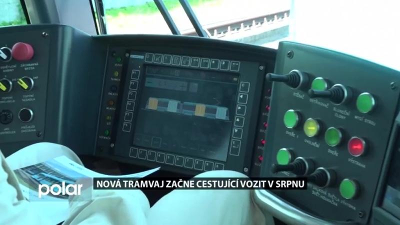 19. června 2018. Nová tramvaj začne cestující v Ostravě vozit v srpnu
