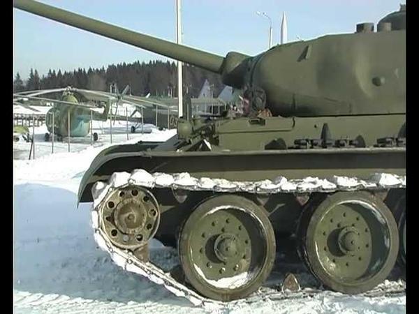 Tank T-44 тест-драйв программы Автопанорама