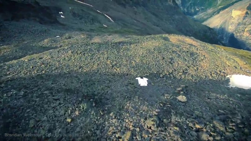 Brendan Weinstein -Wingsuit Flying in Zermatt.