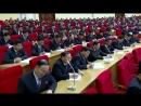 조선로동당 위원장 김정은동지께서 병진로선의 위대한 승리를 긍지높이 선언하시고 당의 새로운 전략적로선을 제시하시였다 -조선로동당 중앙위원회 제7기 제3차전원회의 진행-