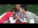 110507 | BLOCK B Jaehyo vs MBLAQ Cheondung (Arm Wrestling) | 100 Points Out Of 100 (Oh My School)