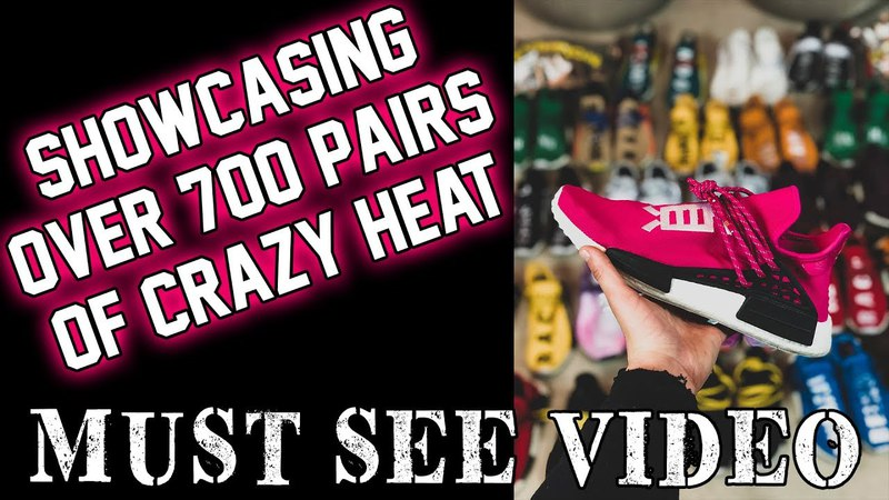 Showing off my entire sneaker collection! Is it worth a MILLION?? *All sorts of CRAZY HEAT